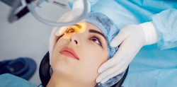 Perfect Vision by Laser Lens Correction