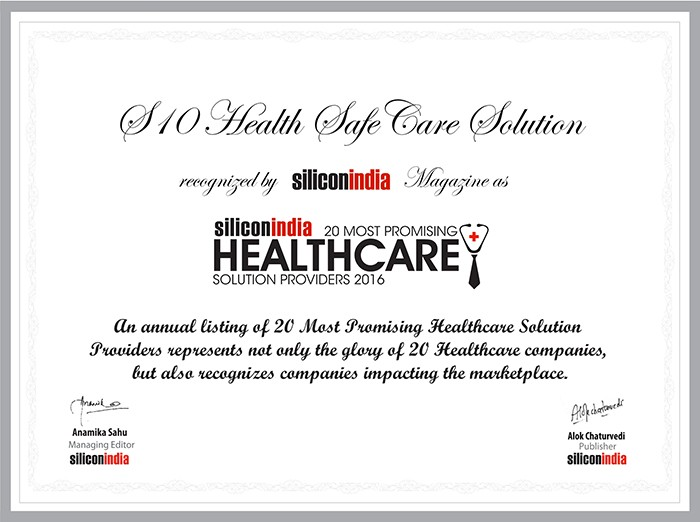 Silicon India : A Window to an Optimal, Customized & SafeCare
