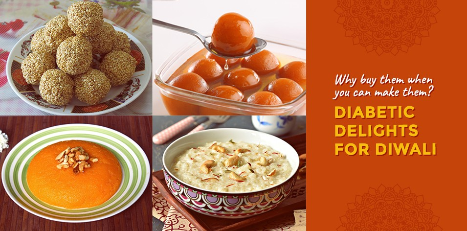 Why buy them when you can make them? Diabetic Delights for Diwali!