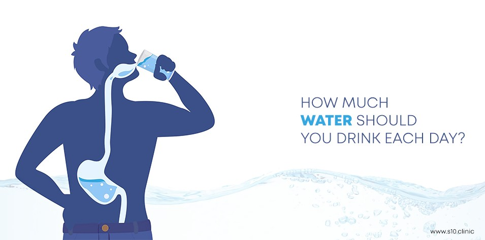 How Much Water Should You Drink Each Day?