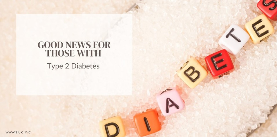 Good News for those with Type 2 Diabetes