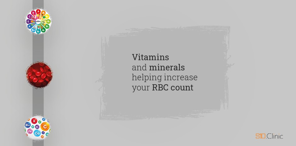 Vitamins and Minerals  Helping Increase Your RBC Count