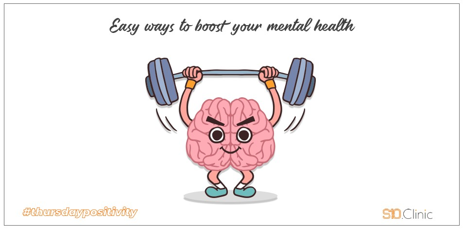 Easy Way to Boost Your Mental  Health