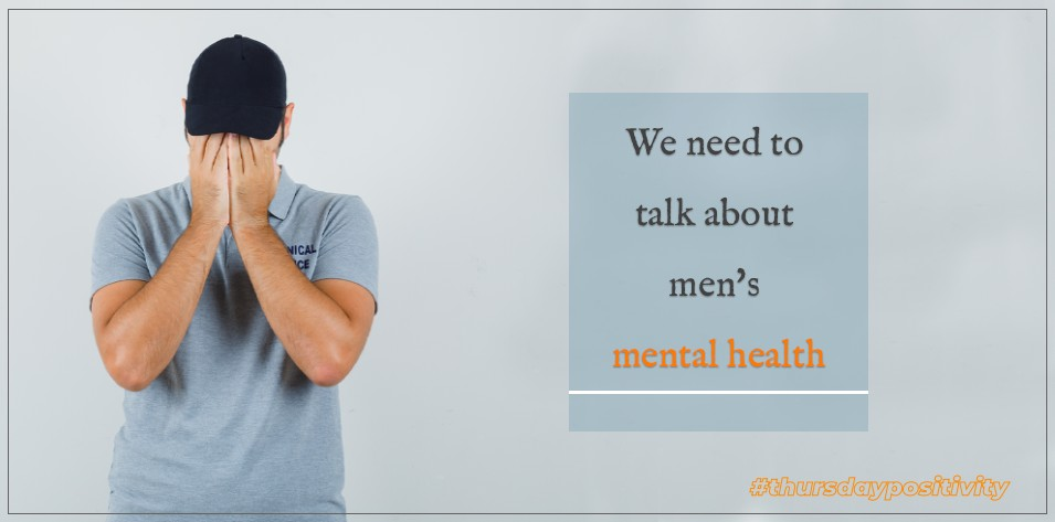 We Need to Talk About Men's Mental Health