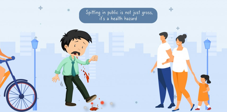 Spitting in Public