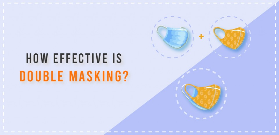 How effective is double masking?