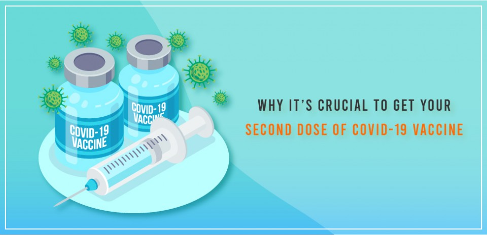 Why it's crucial to get your second dose of COVID-19 vaccine