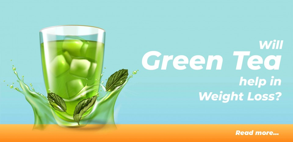 Will Green Tea Helps in Weight Loss