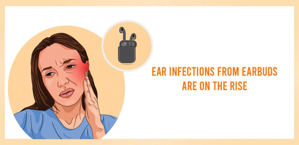Ear Infections From Earbuds are on the Rise