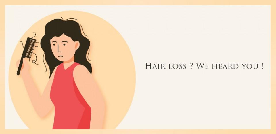 Hair loss? We heard you!