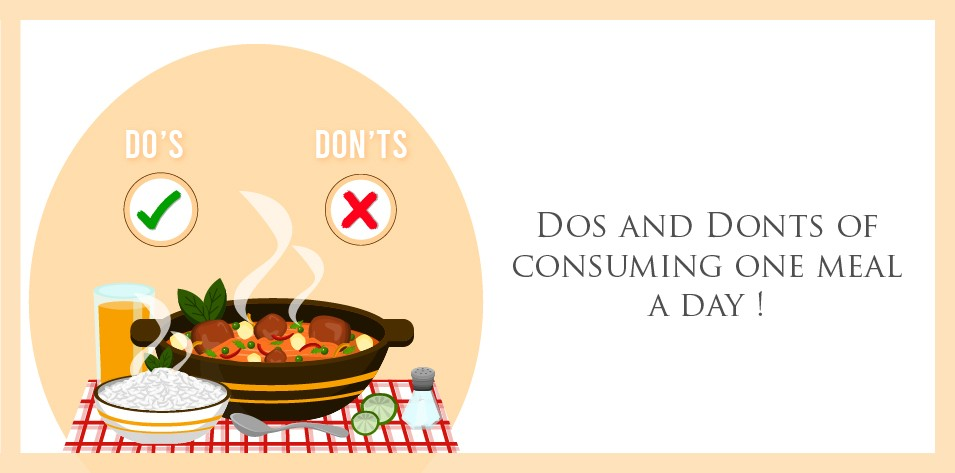 Do's and Don'ts of One-Meal-A-Day Eating