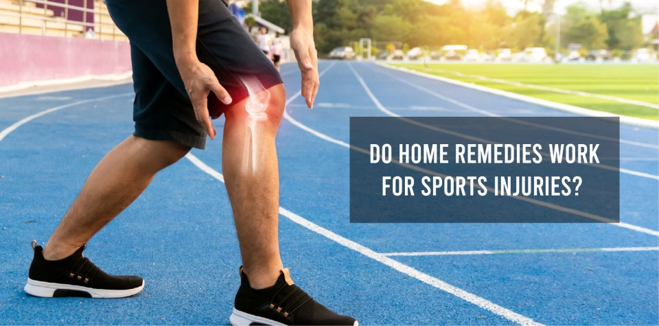 Do home remedies work for sports injuries?