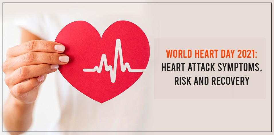 World heart day 2021: Heart Attack Symptoms, Risk and Recovery