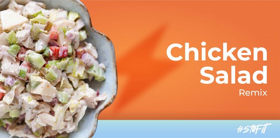 Chicken salad remix