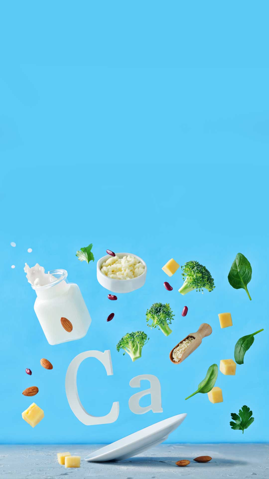 5 non-dairy RICH CALCIUM sources