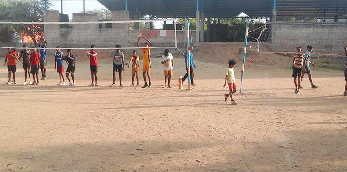 Amutha Volleyball Foundation Summer Camp