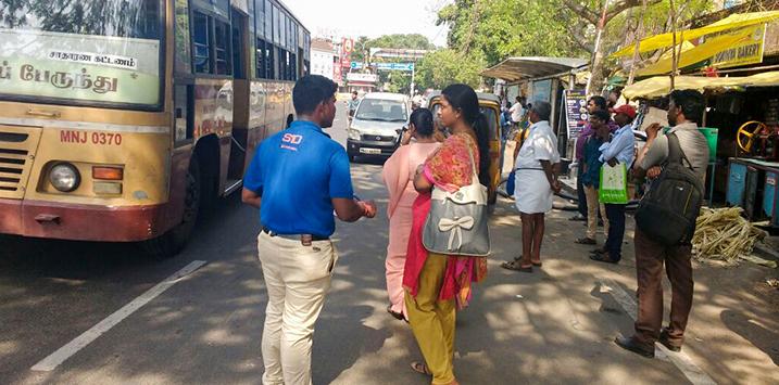 Dental Braces Mobile Van Campaign