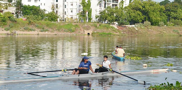 Madras Boat Club Rowing Summer Camp