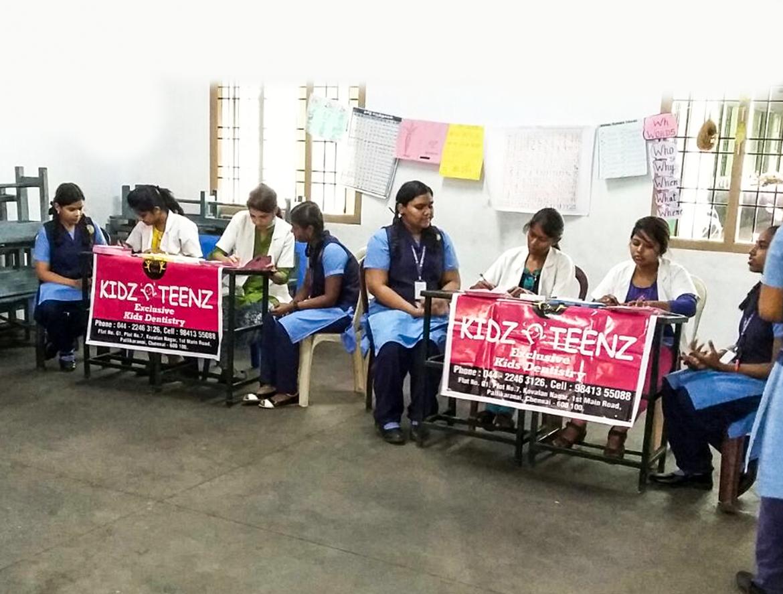 Dental Screening Camp at Zion Matriculation Higher Secondary School